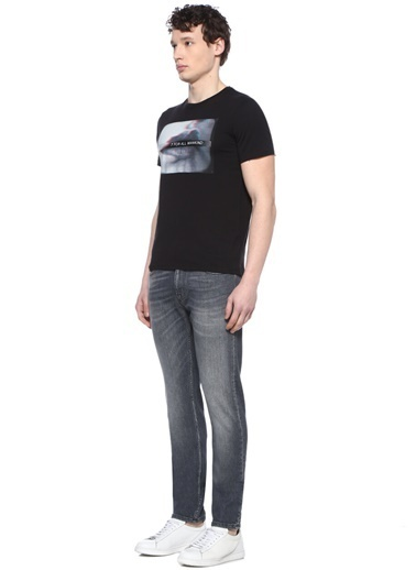 7 For All Mankind Jean Pantolon Gri